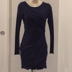 ALICIE + OLIVIA Sweeping Navy Dress-Size 2